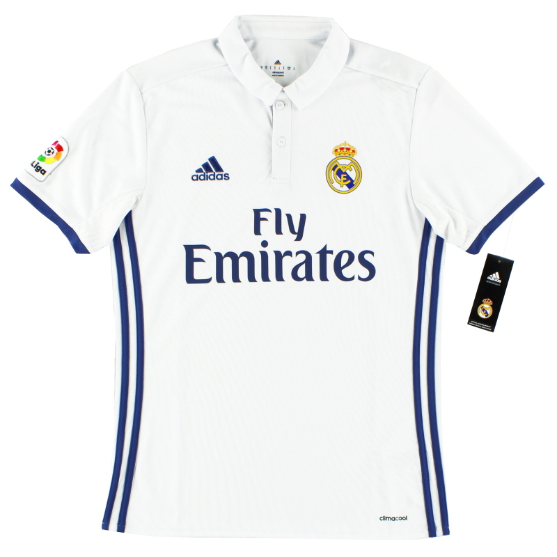 2016-17 Real Madrid Home Shirt *BNIB*  - S94992