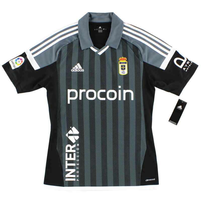 2016-17 Real Oviedo Away Shirt *BNIB*  - BI6077
