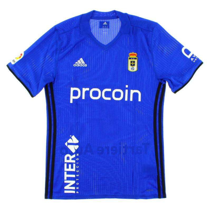 2016-17 Real Oviedo Player Issue Adizero Home Shirt *BNIB*  - BI6072
