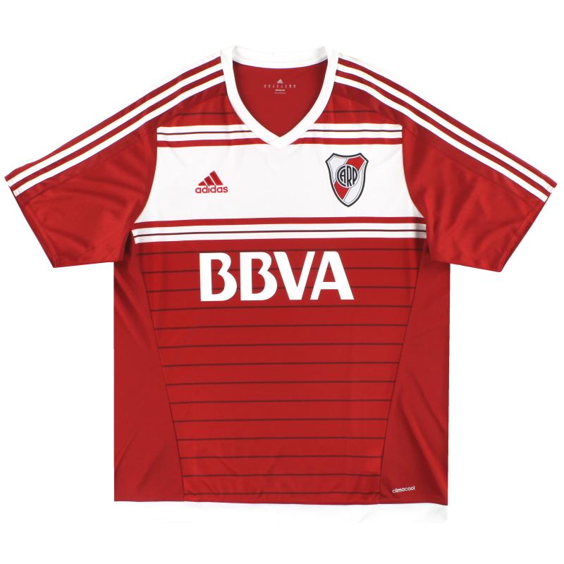 2016-17 River Plate adidas Away Shirt *Mint* XL - BS4096