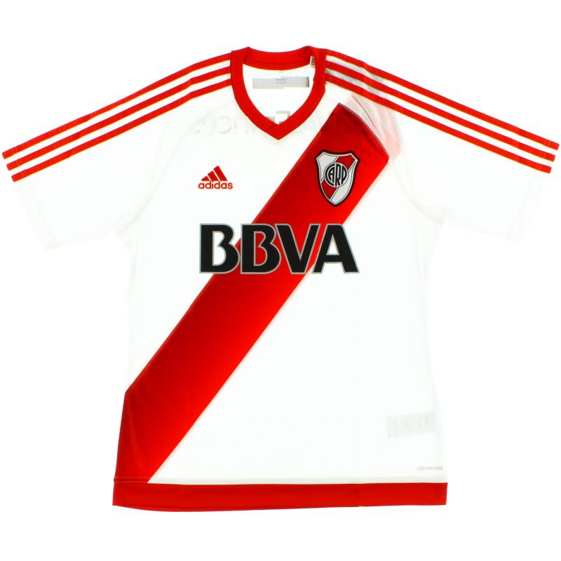 2016-17 River Plate Home Shirt *BNWT* Y - BS4091