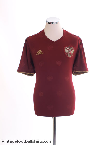 2016-17 Russia Home Shirt *BNIB*  - AA0353