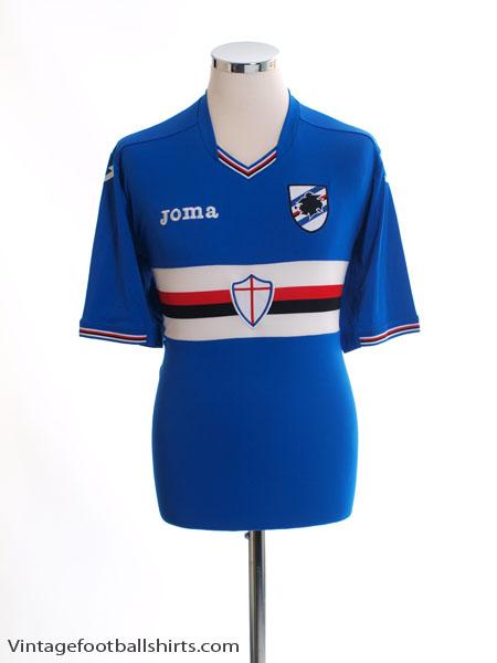 2016-17 Sampdoria Home Shirt *Mint* XL