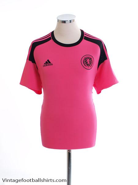 2016-17 Scotland Away Shirt M