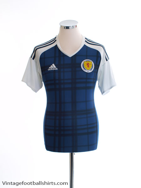 2016-17 Scotland Home Shirt S