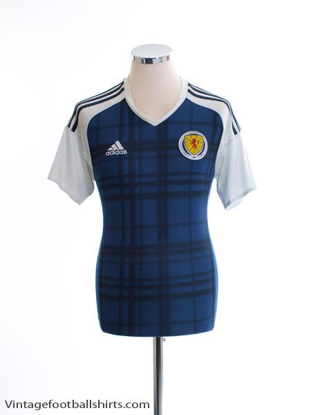 2016-17 Scotland Home Shirt S