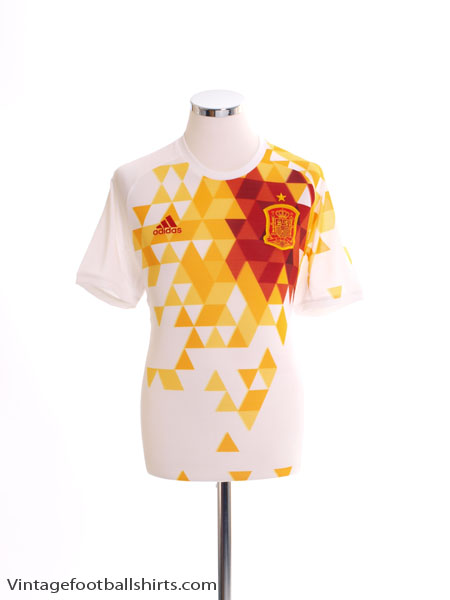 2016-17 Spain Away Shirt XL - AA0830