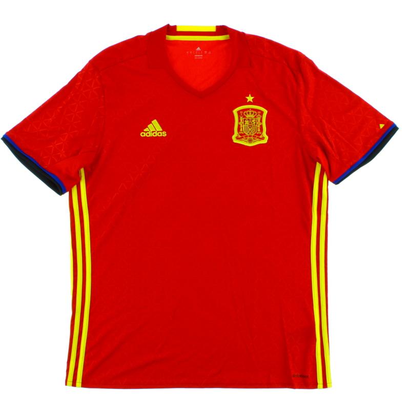 2016-17 Spain Home Shirt *BNIB* - AI4411