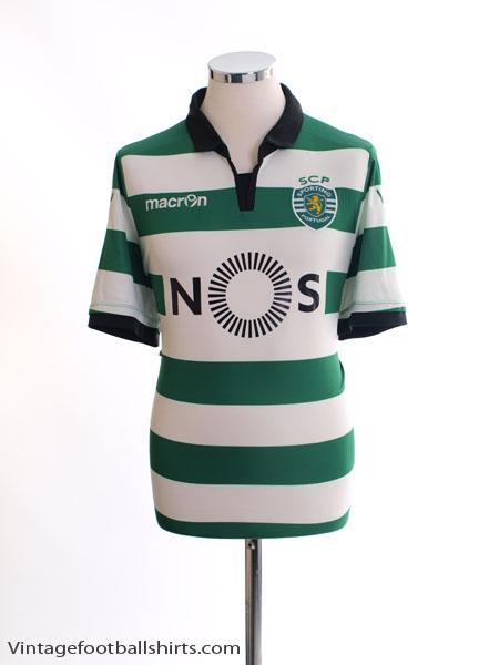 2016-17 Sporting Lisbon Home Shirt XL