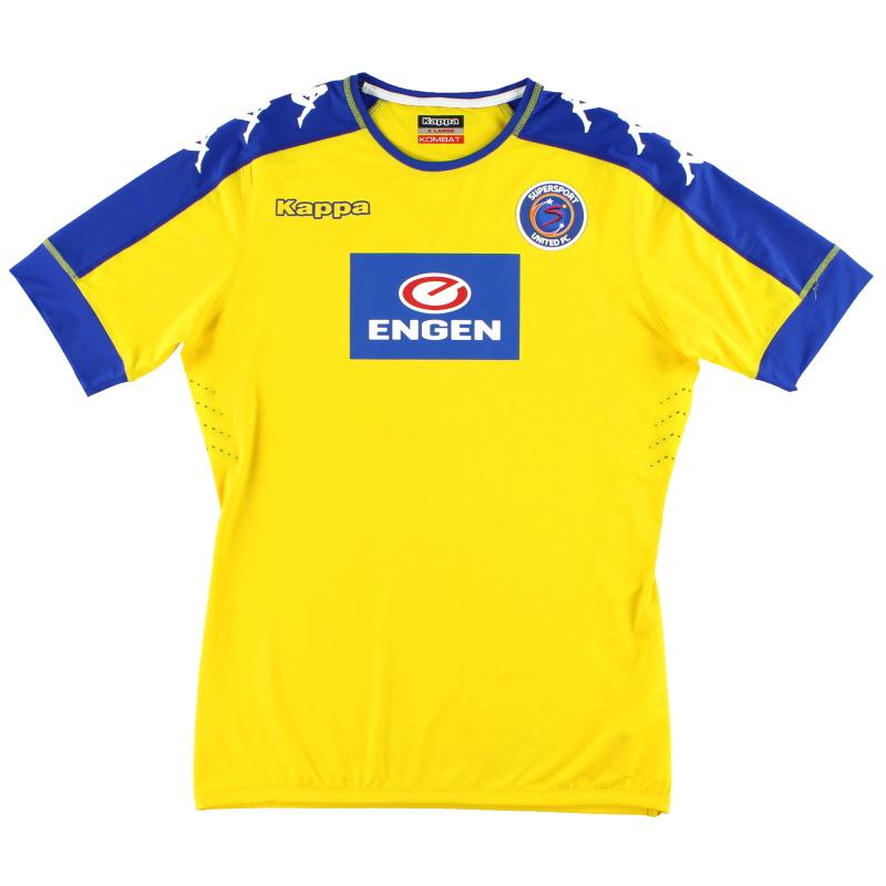 2016-17 SuperSport United Kappa Kombat Goalkeeper Shirt *As New* XL
