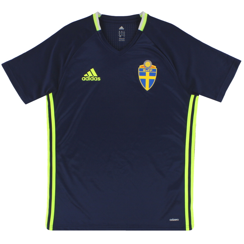 2016-17 Sweden adidas adizero Training Shirt M - AC3905