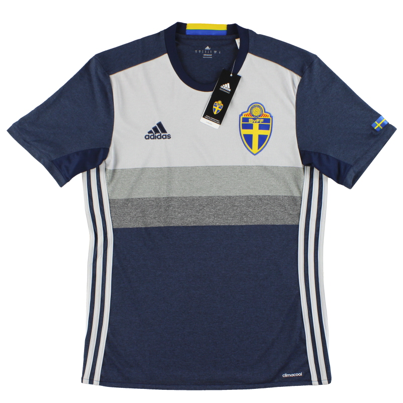 2016-17 Sweden adidas Away Shirt *w/tags* S - AA0456