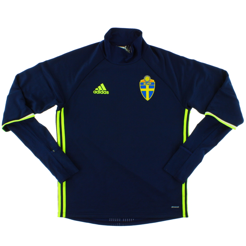 2016-17 Sweden adidas Training Top *Mint* M - AC3909