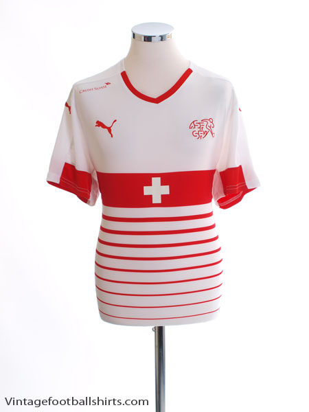 2016-17 Switzerland Away Shirt *Mint* XL - 748741