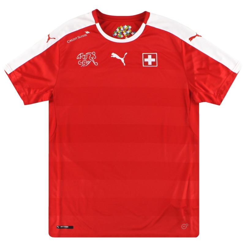2016-17 Switzerland Puma Home Shirt L - 748740