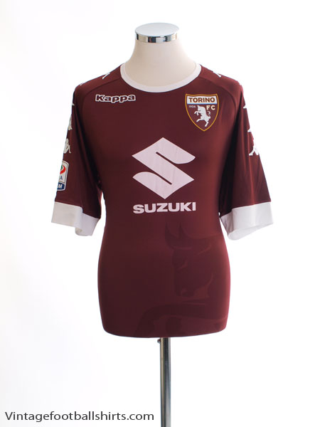2016-17 Torino '110 Years' Kombat Home Shirt *Mint* XXL - 303NTZ0