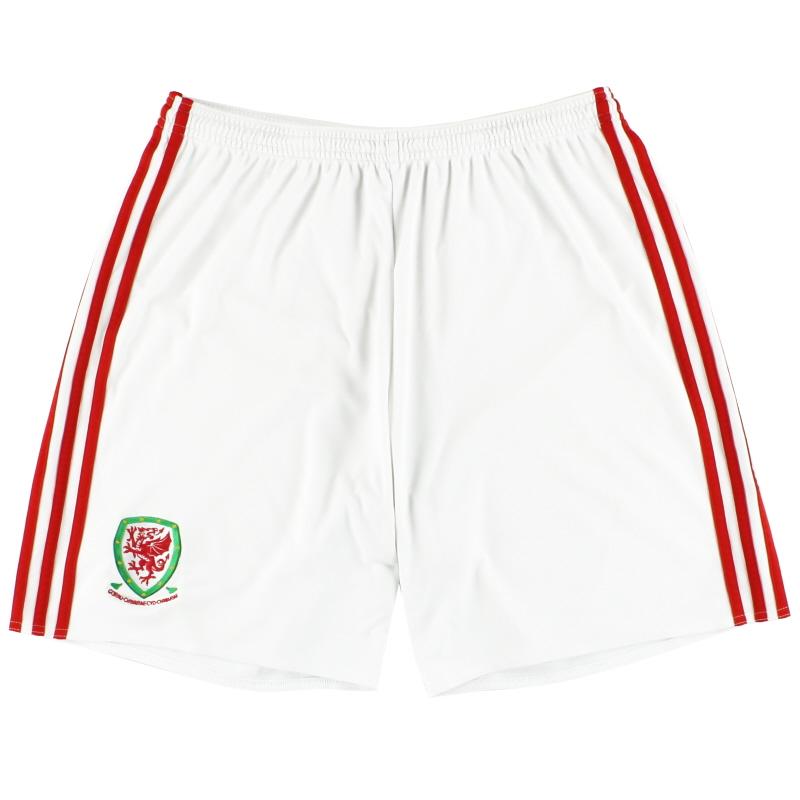 2016-17 Wales adidas Home Shorts L - AJ7070
