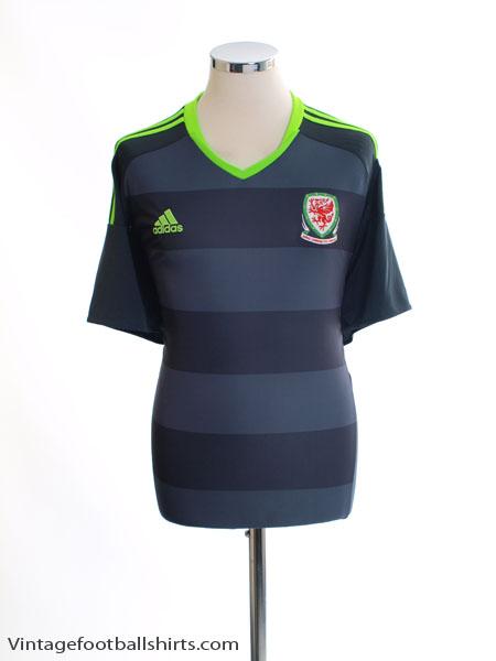 2016-17 Wales Away Shirt *Mint* XL - AI6632