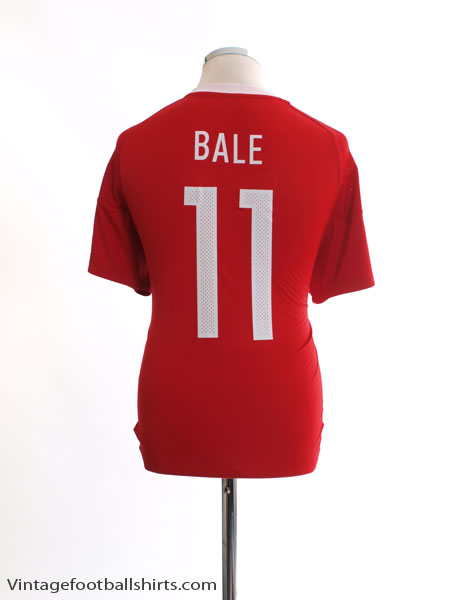 2016-17 Wales Home Shirt Bale #11 *Mint* XL