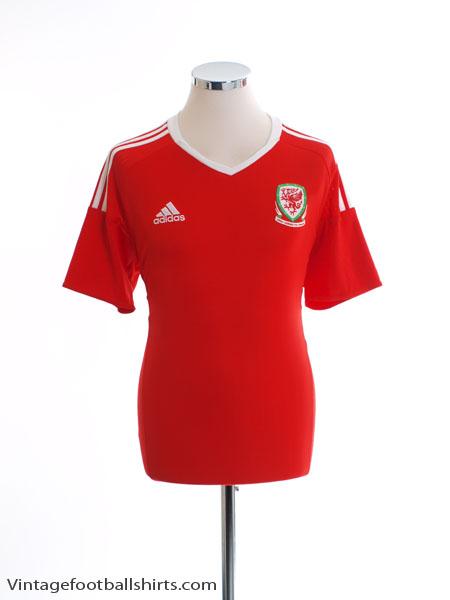 2016-17 Wales Home Shirt *BNWT* M - AI6630