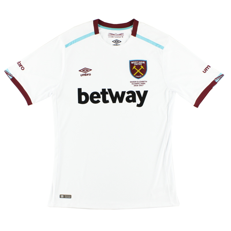 2016-17 West Ham Away Shirt *w/tags* L