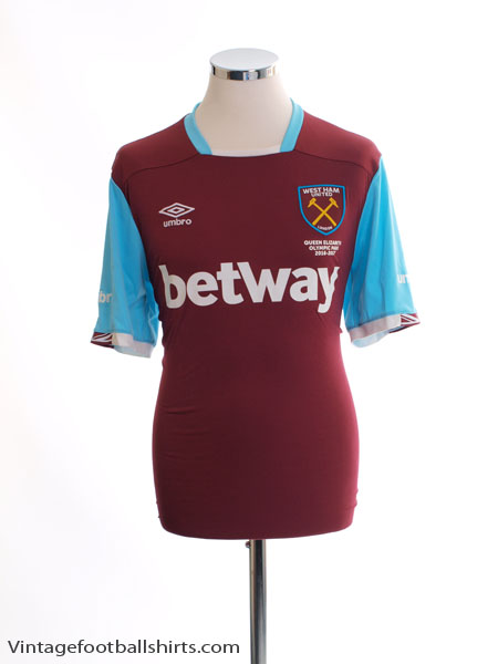2016-17 West Ham Home Shirt L