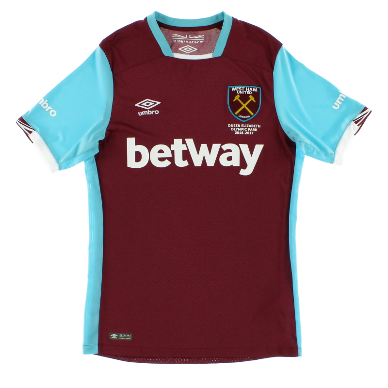 2016-17 West Ham Home Shirt *Mint* S