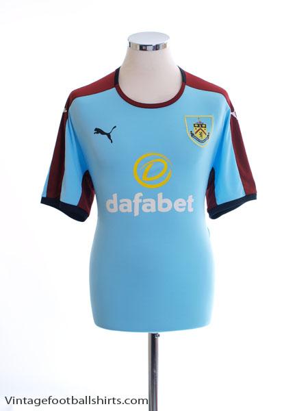 2016-18 Burnley Away Shirt L