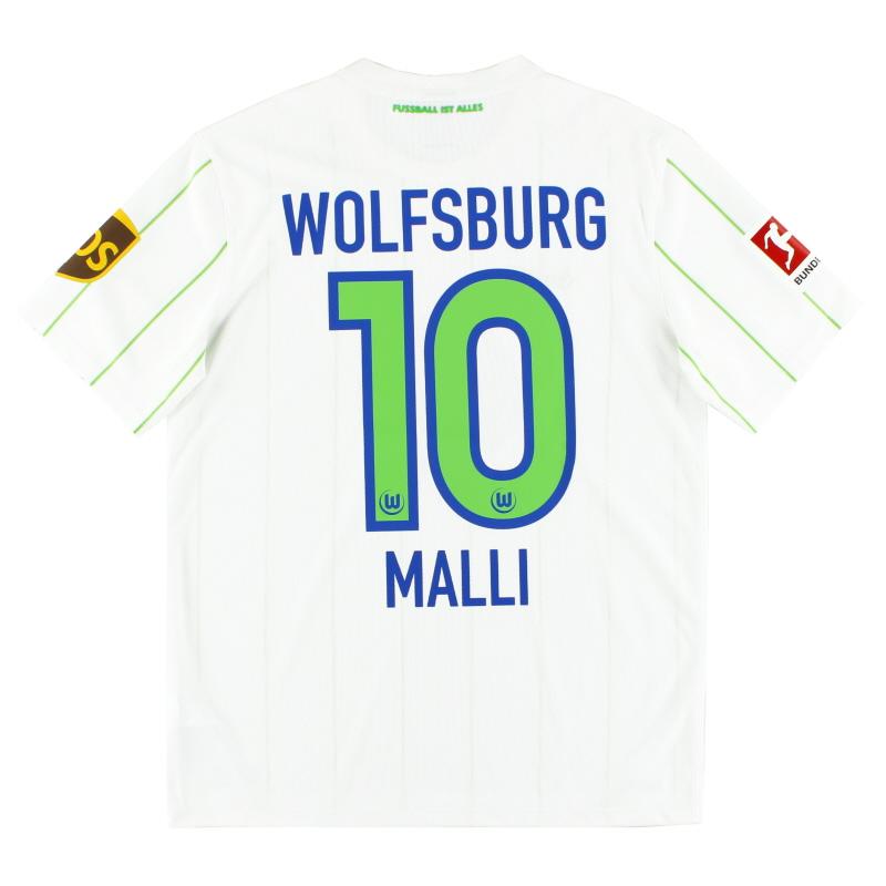 2016-18 Wolfsburg Away Shirt Malli #10 M