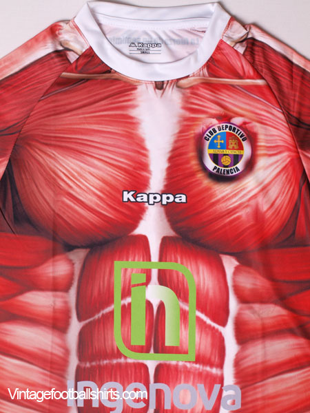 2016 Cd Palencia Anatomy Play Off Home Shirt Bnib For Sale