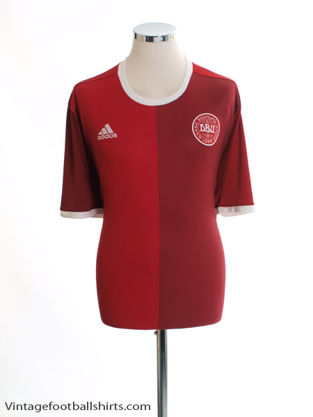 2016 Denmark Home Shirt *Mint* XXL - AH9201