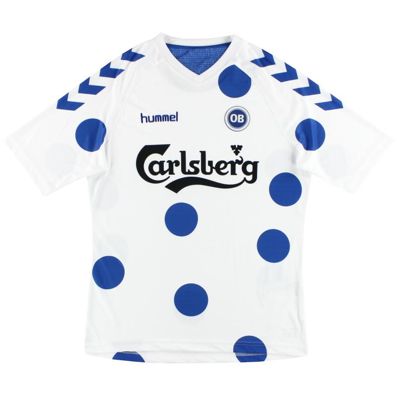 2016 Odense BK Hummel  'April Fools' Training Shirt *As New*  - 03-780