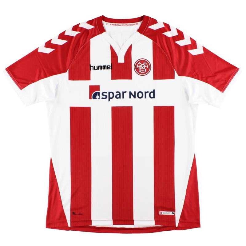 2017-18 Aalborg BK Hummel Home Shirt *As New* - 03-774