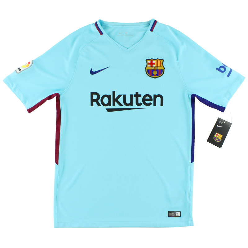 2017-18 Barcelona Away Shirt *w/tags* - 847254