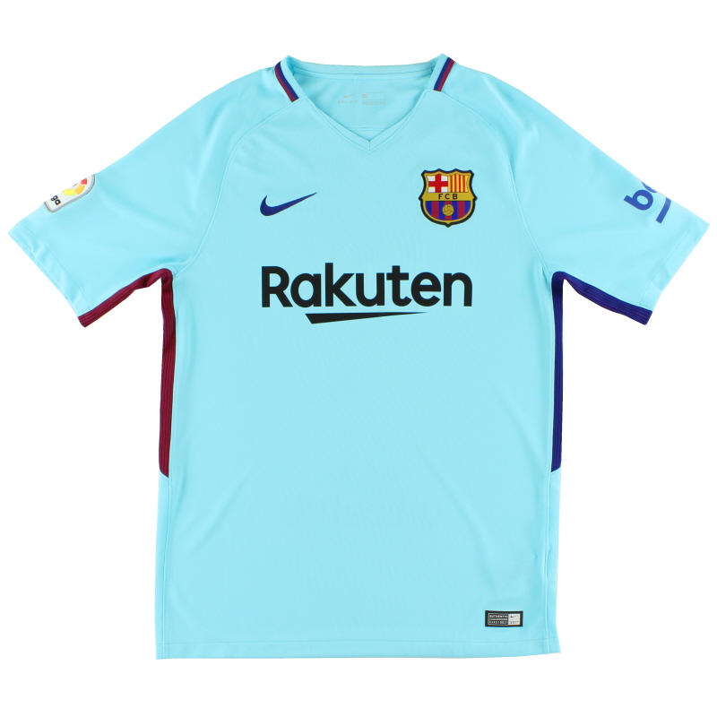 2017-18 Barcelona Away Shirt S - 847254-484