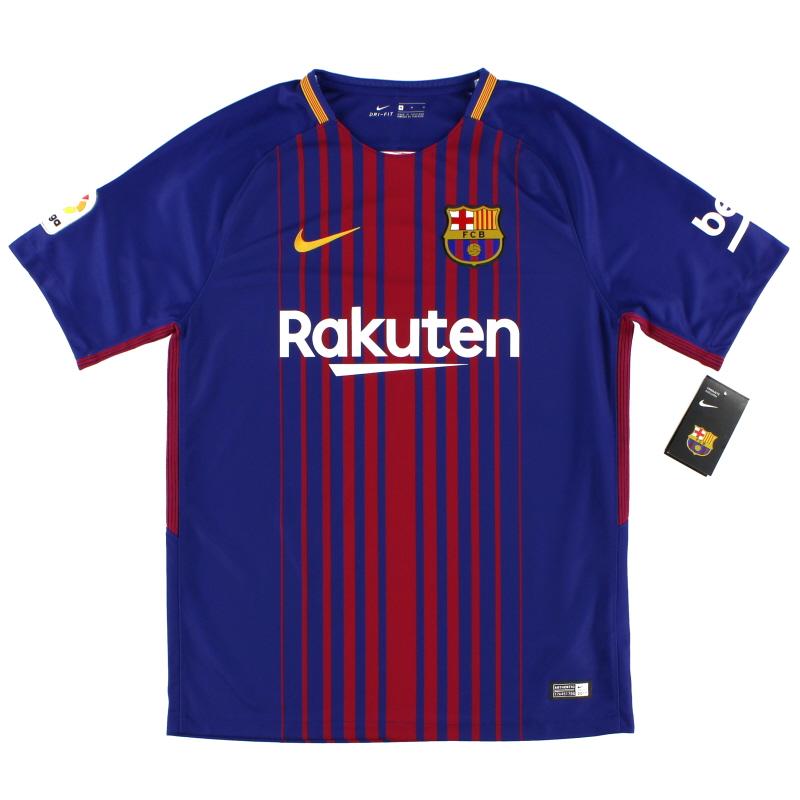2017-18 Barcelona Nike Home Shirt *w/tags* M - 847255