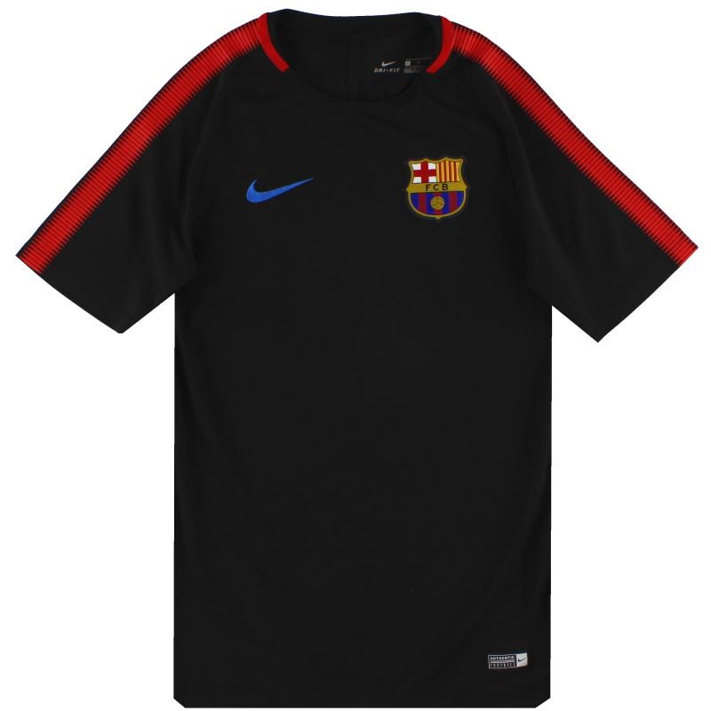 2017-18 Barcelona Nike Training Shirt S