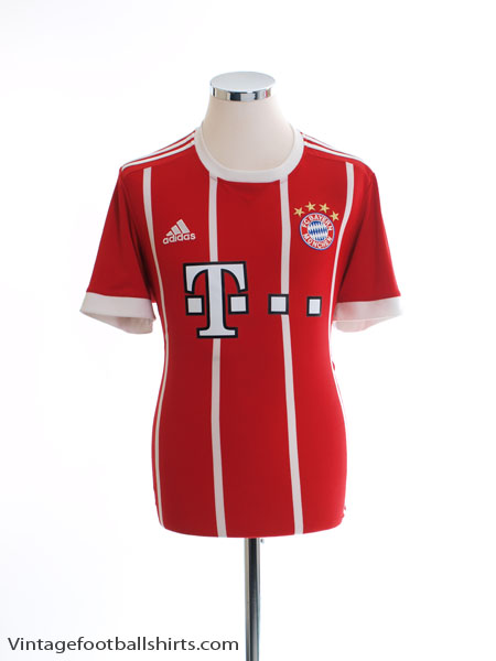 2017-18 Bayern Munich Home Shirt *Mint* M