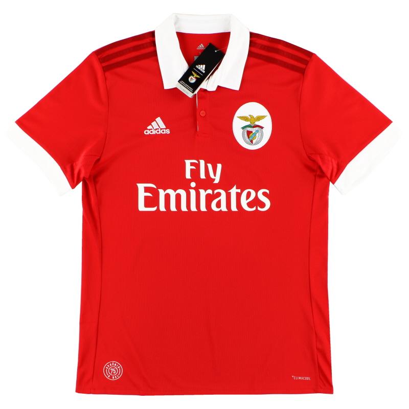 2017-18 Benfica Home Shirt *BNIB* - B31000