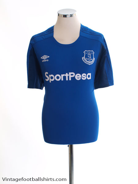 2017-18 Everton Home Shirt *Mint* XL