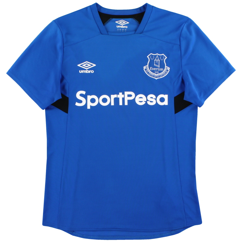 2017-18 Everton Umbro Training Shirt S