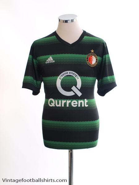2017-18 Feyenoord Away Shirt *Mint* L