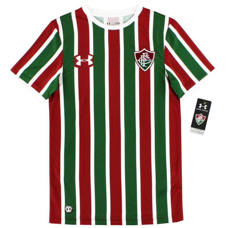 2017-18 Fluminense Under Armour Home Shirt *BNIB* S - 1318954-292
