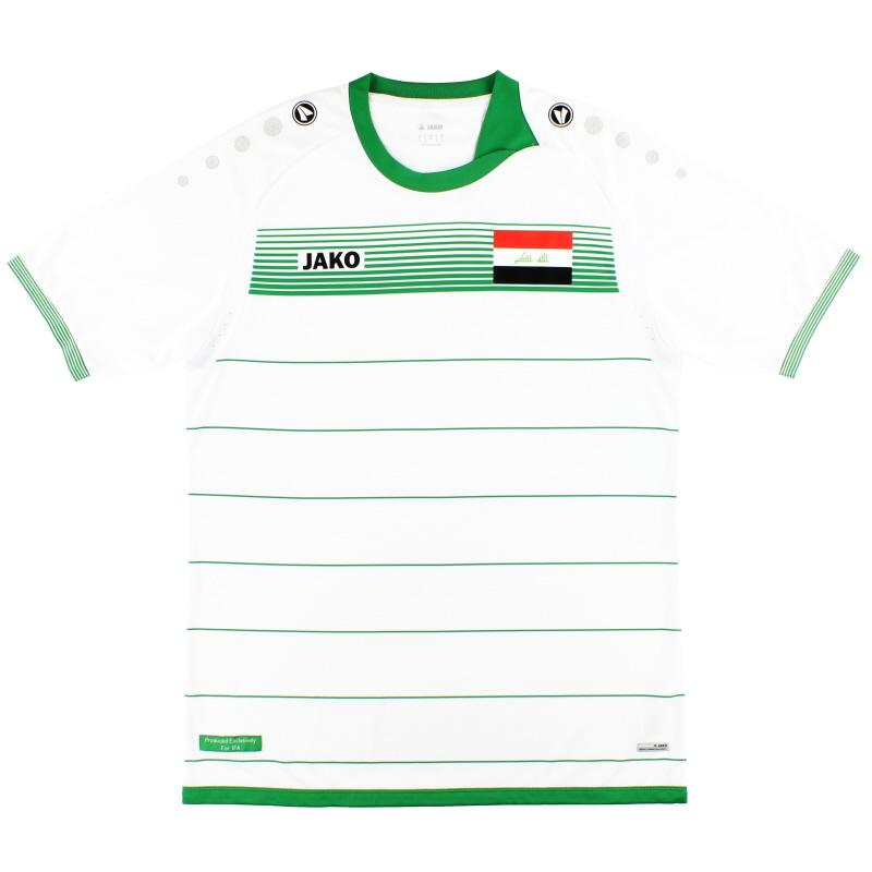 2017-18 Iraq Jako Away Shirt *As New* - IK4217