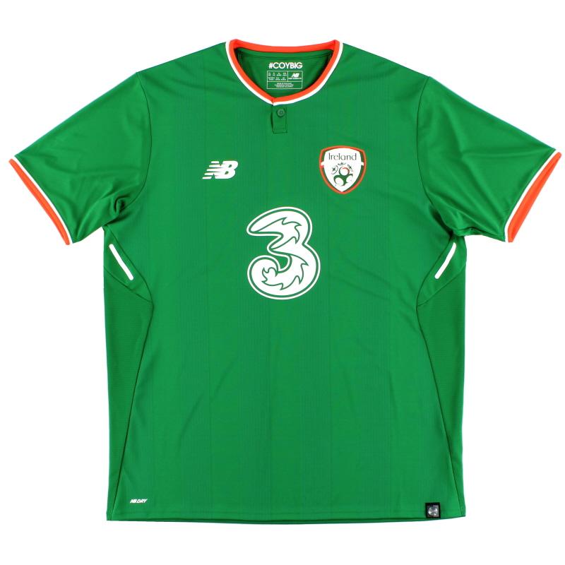 2017-18 Ireland Home Shirt *Mint* XL - MT730546
