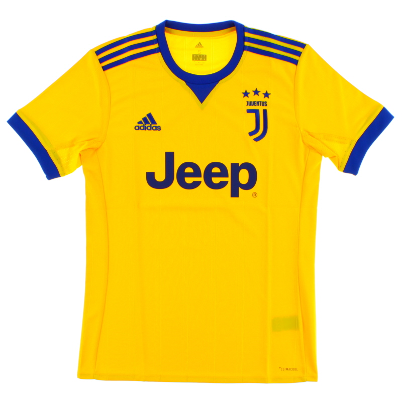 2017-18 Juventus Away Shirt *BNIB* S - BQ4530