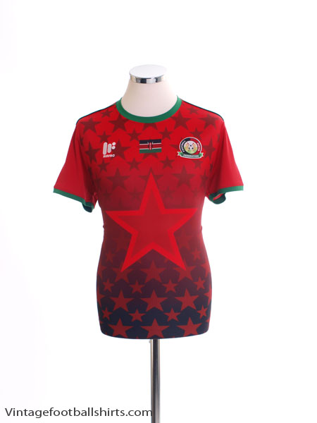 2017-18 Kenya Home Shirt *BNIB*