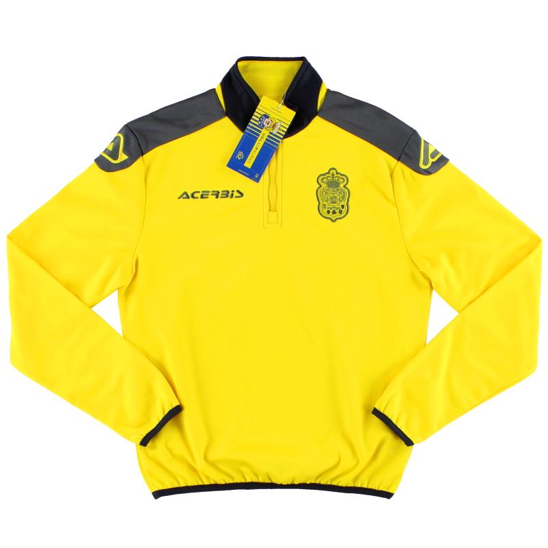 2017-18 Las Palmas Acerbis 1/2 Zip Sweatshirt *BNIB* 3XS - 0022407.060.059