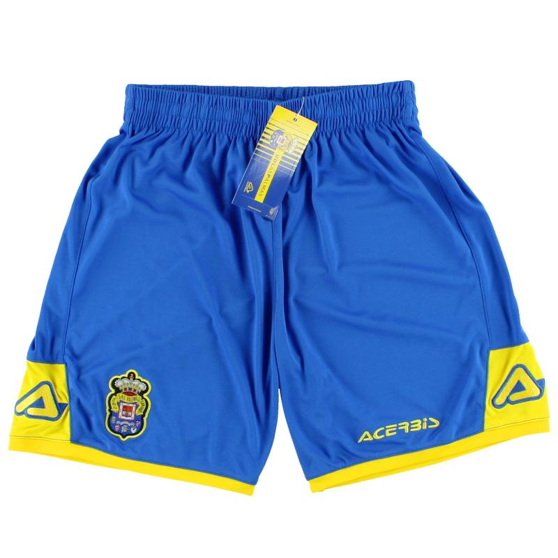 2017-18 Las Palmas Acerbis Home Shorts*BNIB* XS - 0022403.042.061