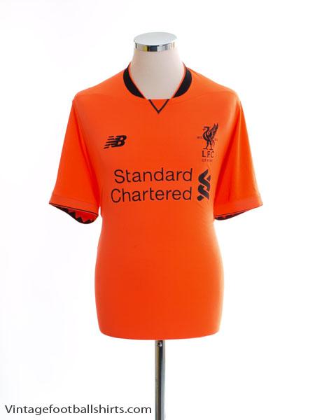 2017-18 Liverpool '125 Years' Third Shirt *Mint* L - MT730024